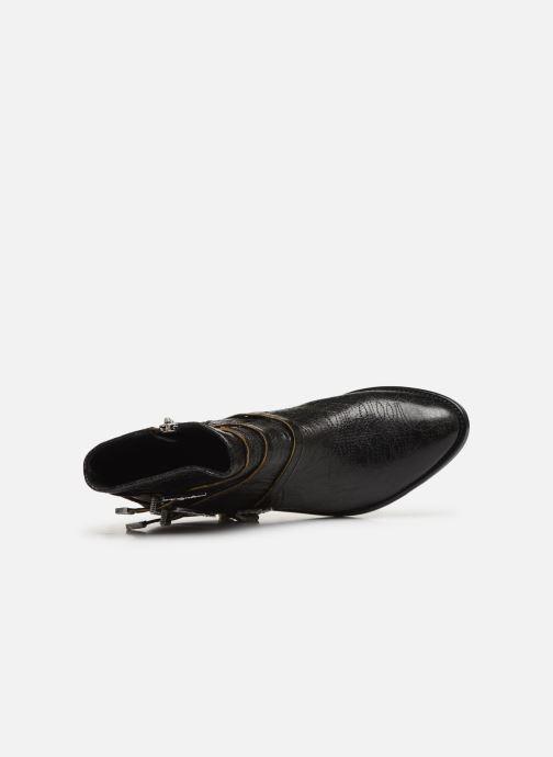 Bottines et boots Zadig & Voltaire Pilar Used St Noir vue gauche