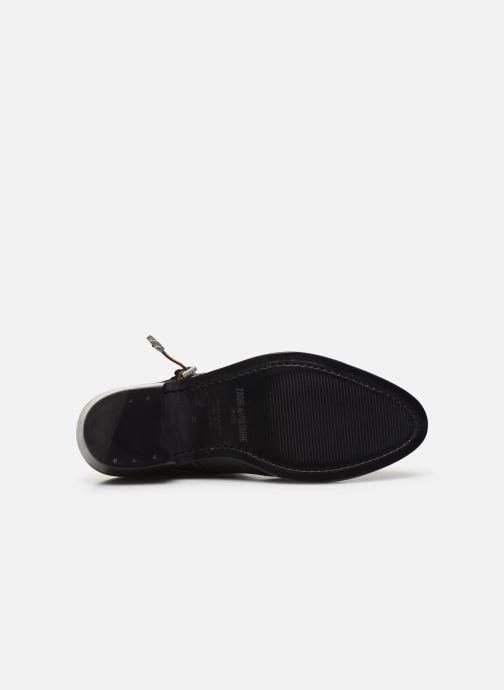 Bottines et boots Zadig & Voltaire Pilar Used St Noir vue haut