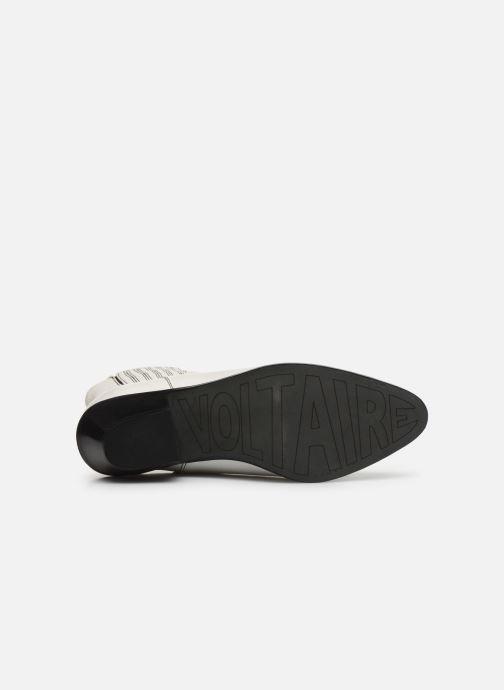 Bottines et boots Zadig & Voltaire Tyler Elastic Blanc vue haut