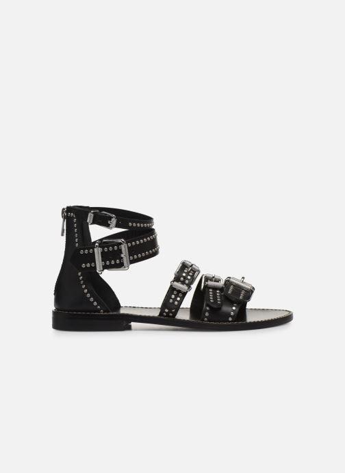 Sandali e scarpe aperte Zadig & Voltaire Ever Vegetal Nero immagine posteriore