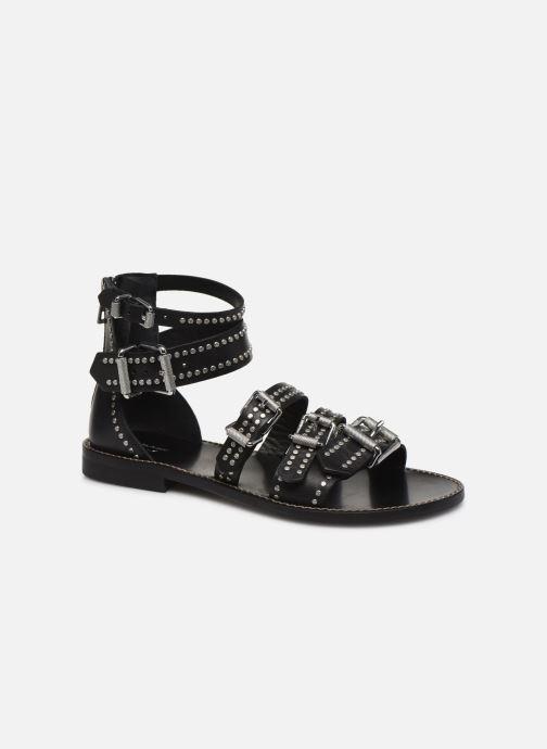 Sandali e scarpe aperte Zadig & Voltaire Ever Vegetal Nero vedi dettaglio/paio