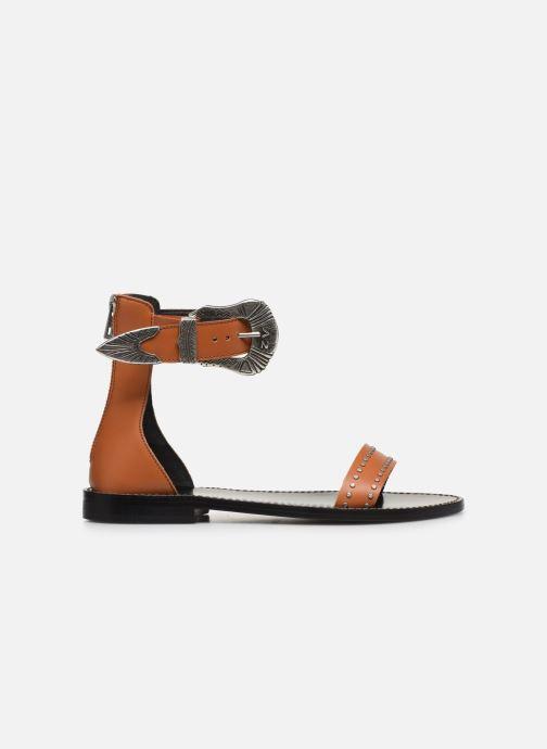 Sandali e scarpe aperte Zadig & Voltaire Ever Vegetal Marrone immagine posteriore