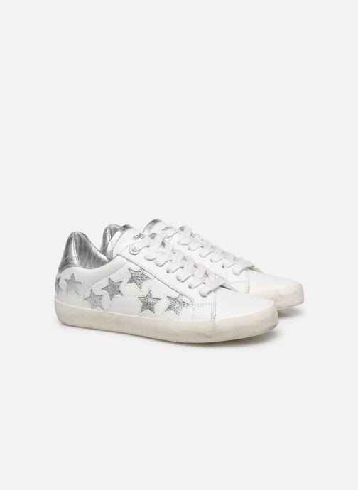 Sneakers Zadig & Voltaire Zadig Used Bianco immagine 3/4