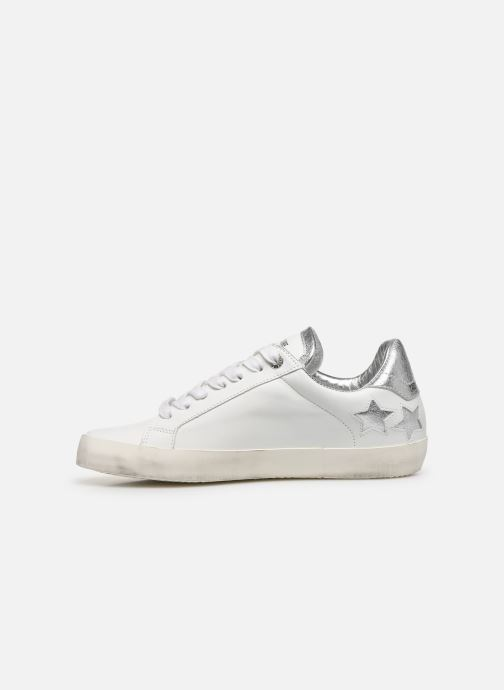 Sneakers Zadig & Voltaire Zadig Used Bianco immagine frontale