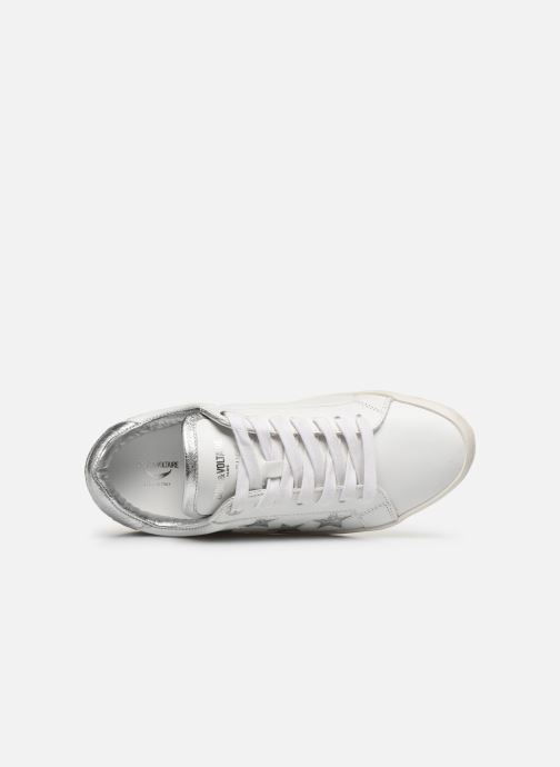 Sneakers Zadig & Voltaire Zadig Used Bianco immagine sinistra