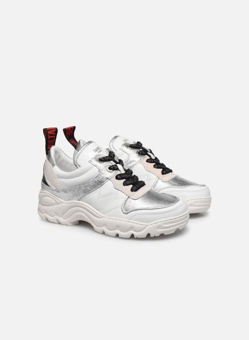 Sneakers Zadig & Voltaire Blaze Smooth Ca Zilver 3/4'