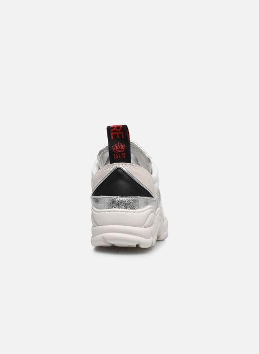 Sneakers Zadig & Voltaire Blaze Smooth Ca Zilver rechts
