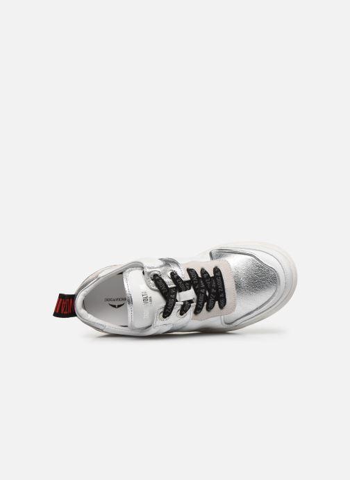 Sneakers Zadig & Voltaire Blaze Smooth Ca Zilver links