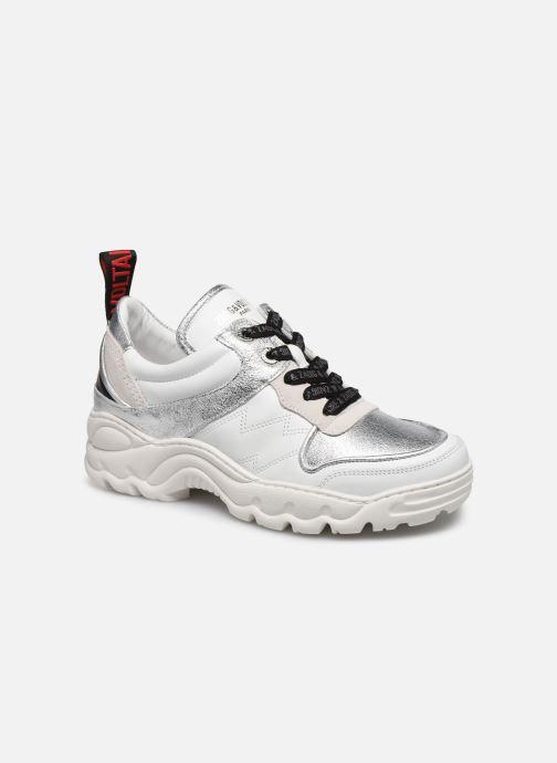 Sneakers Zadig & Voltaire Blaze Smooth Ca Zilver detail