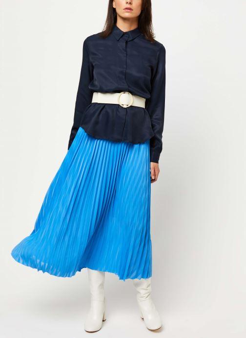 Vêtements Selected Femme ARABELLA-ODETTE LS SHIRT NOOS Bleu vue bas / vue portée sac