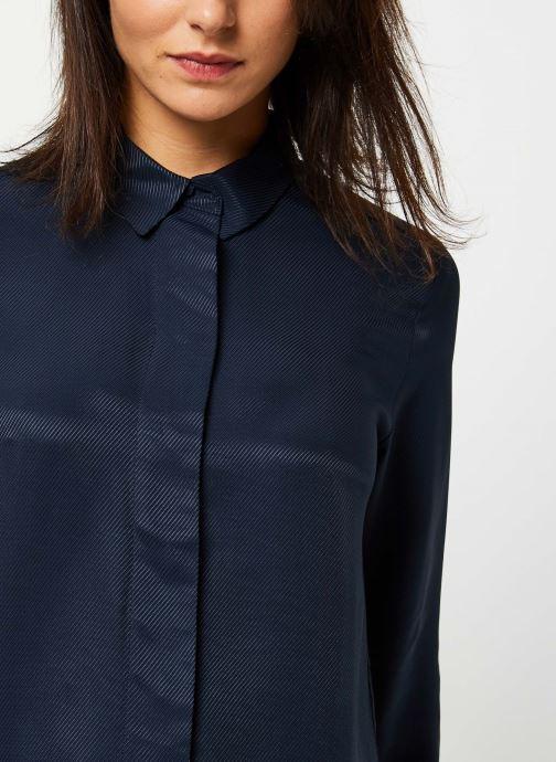 Vêtements Selected Femme ARABELLA-ODETTE LS SHIRT NOOS Bleu vue face