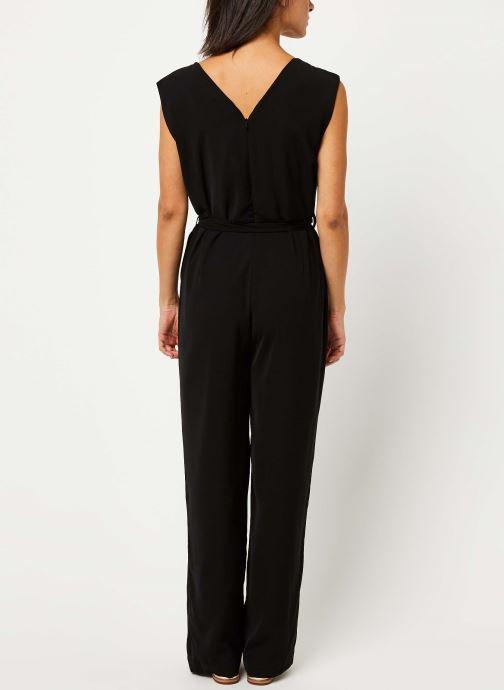 Vêtements Selected Femme THEA SL JUMPSUIT B Noir vue portées chaussures