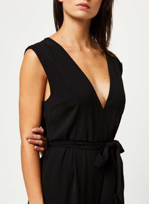 Vêtements Selected Femme THEA SL JUMPSUIT B Noir vue face