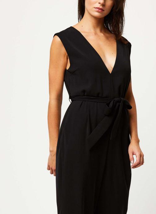 Vêtements Selected Femme THEA SL JUMPSUIT B Noir vue droite