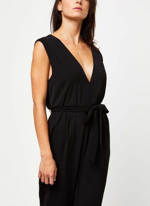 Vêtements Selected Femme THEA SL JUMPSUIT B Noir vue détail/paire