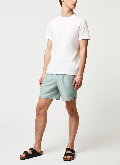 Vêtements Farah Colbert Plain Swim Vert vue bas / vue portée sac