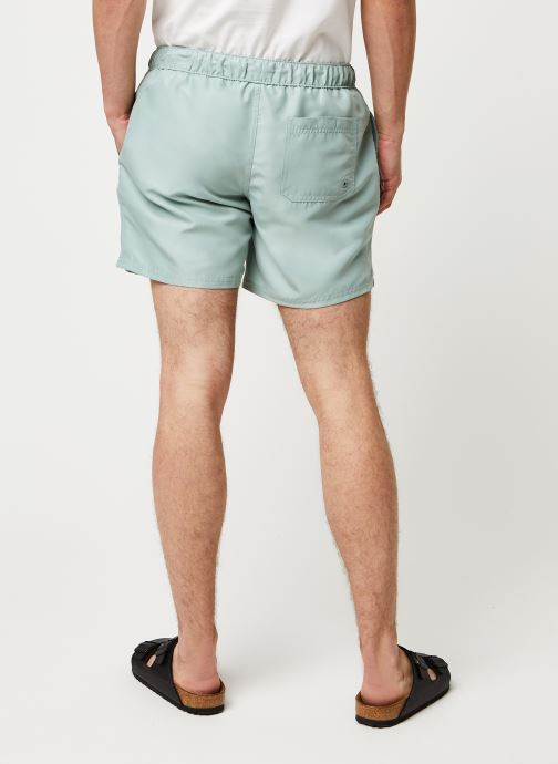 Vêtements Farah Colbert Plain Swim Vert vue portées chaussures
