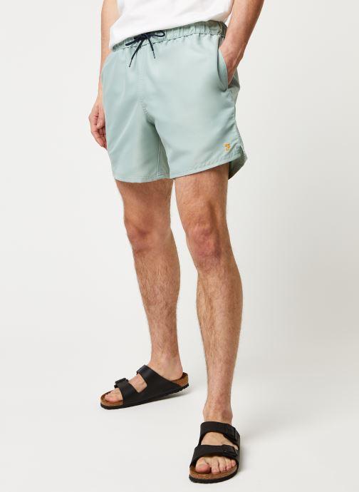 Vêtements Farah Colbert Plain Swim Vert vue détail/paire