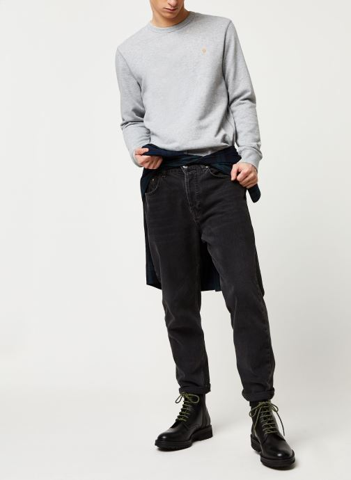 Vêtements Farah Tim Crew Gris vue bas / vue portée sac