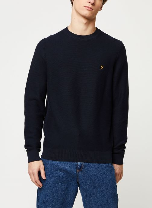 Vêtements Farah Delta Sweater Bleu vue droite