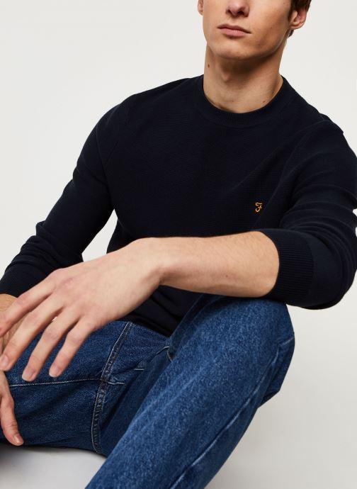 Vêtements Farah Delta Sweater Bleu vue détail/paire