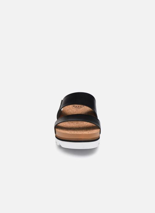 Sandalen Reef Cushion Bounce Vista Hi schwarz schuhe getragen