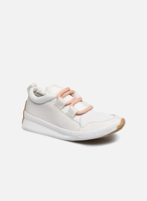 Baskets Sorel Out N About Plus Street Sneak Blanc vue détail/paire