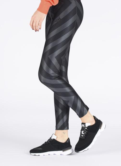 Sneaker Sorel Kinetic Lite Lace schwarz ansicht von unten / tasche getragen