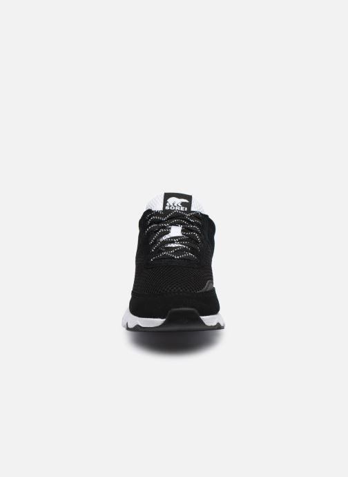 Sneaker Sorel Kinetic Lite Lace schwarz schuhe getragen