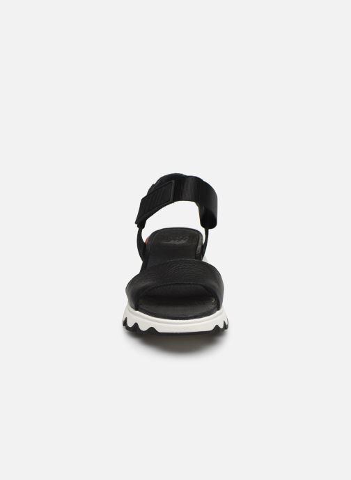 Sandales et nu-pieds Sorel Kinetic Sandal Noir vue portées chaussures
