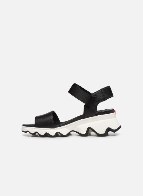 Sandalias Sorel Kinetic Sandal Negro vista de frente