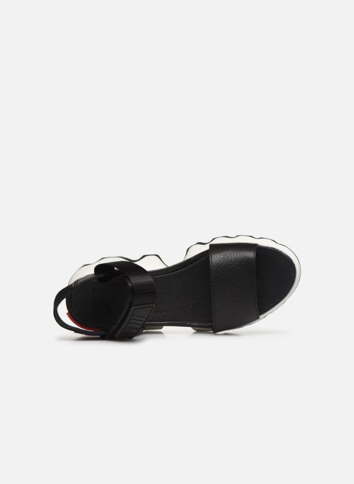 Sandalias Sorel Kinetic Sandal Negro vista lateral izquierda