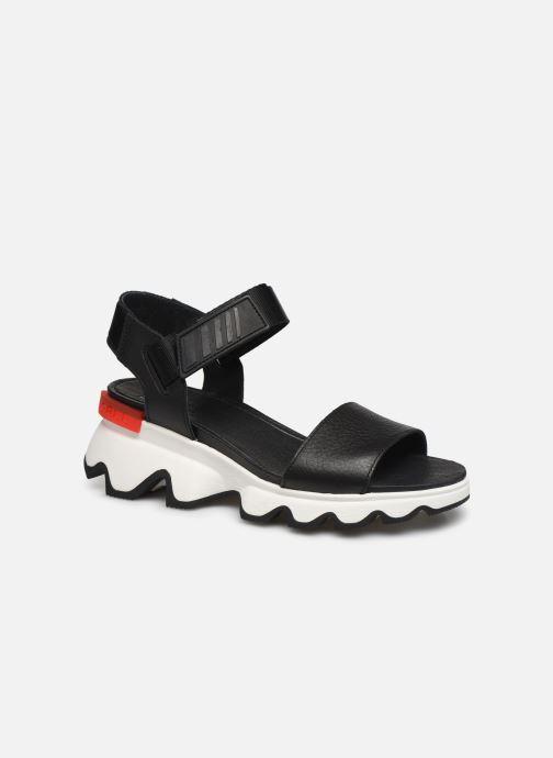 Sandalias Sorel Kinetic Sandal Negro vista de detalle / par