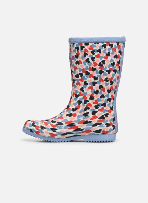 Bottes Tom Joule Girls Roll Up Welly Multicolore vue face