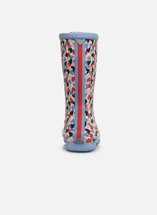 Bottes Tom Joule Girls Roll Up Welly Multicolore vue droite