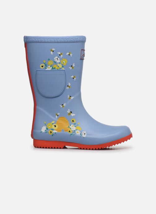 Botas Tom Joule Girls Roll Up Welly Gris vistra trasera