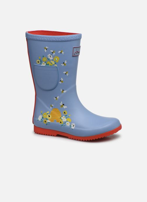 Bottes Tom Joule Girls Roll Up Welly Gris vue détail/paire