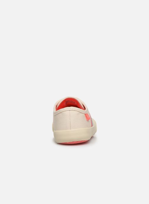 Sneakers Tom Joule Coast Pump Bianco immagine destra