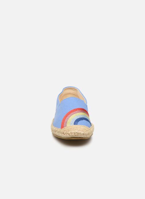 Espadrilles Tom Joule Shelbury Bleu vue portées chaussures