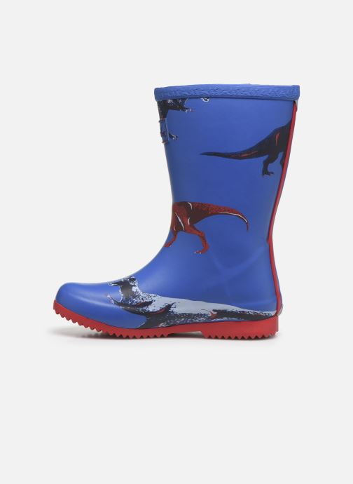 Bottes Tom Joule Boys Roll Up Welly Bleu vue face