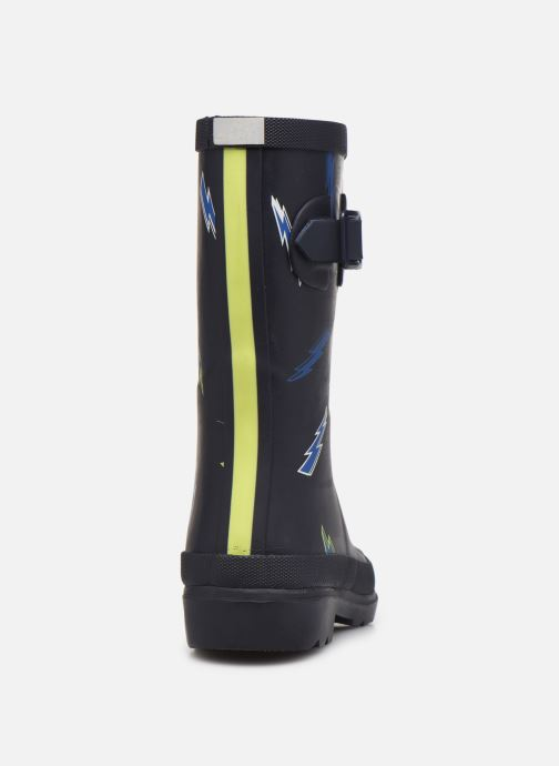 Bottes Tom Joule Boys Roll Up Welly Bleu vue droite