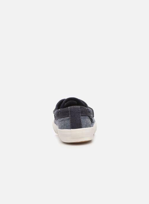 Zapatos con cordones Tom Joule Falmouth Azul vista lateral derecha