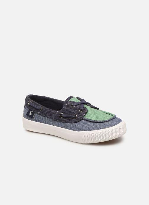 Zapatos con cordones Tom Joule Falmouth Azul vista de detalle / par