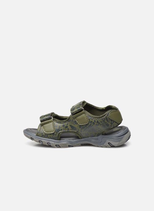 Sandalen Tom Joule Rockwell grün ansicht von vorne