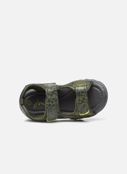 Sandalen Tom Joule Rockwell grün ansicht von links