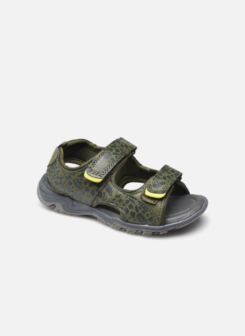 Sandales et nu-pieds Tom Joule Rockwell Vert vue détail/paire