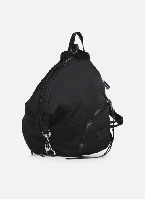 Mochilas Rebecca Minkoff Julian Nylon Backpack Negro vista del modelo