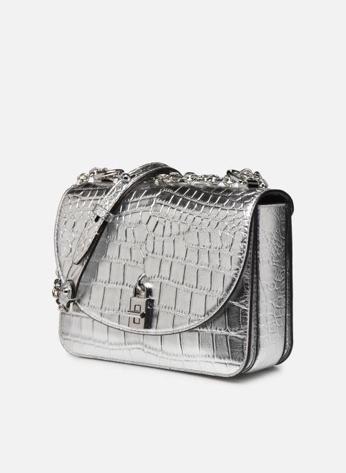 Handtaschen Rebecca Minkoff Love Too Crossbody silber schuhe getragen