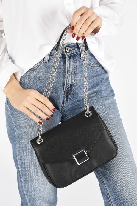 Handtaschen Aldo AGRIERIA schwarz ansicht von unten / tasche getragen
