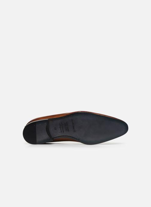 Chaussures à lacets Marvin&Co Noveri Marron vue haut
